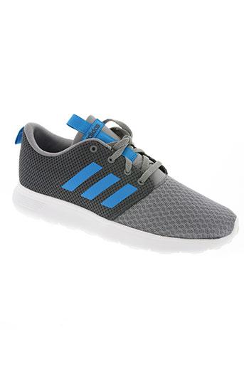 adidas chaussures unisexe de couleur bleu