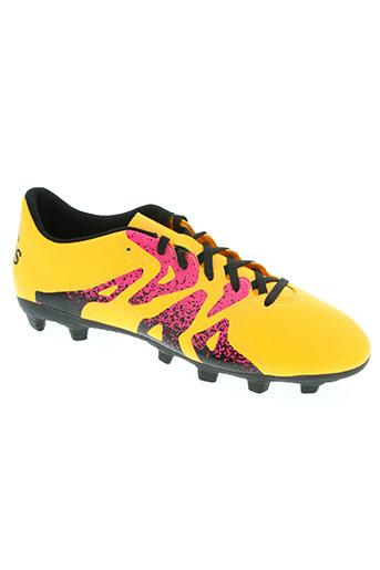 adidas chaussures femme de couleur jaune