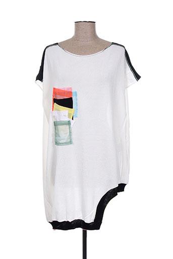 tricot chic pulls femme de couleur blanc