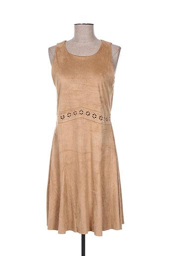 nana nucci robes femme de couleur marron