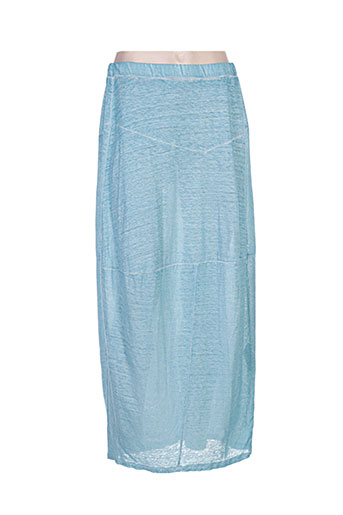 grizas jupes femme de couleur bleu