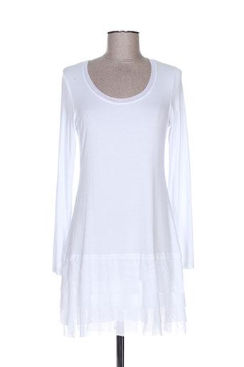 deca robes femme de couleur blanc