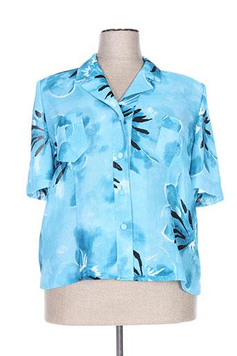 Veste chic / Blazer bleu COUTUREINE pour femme
