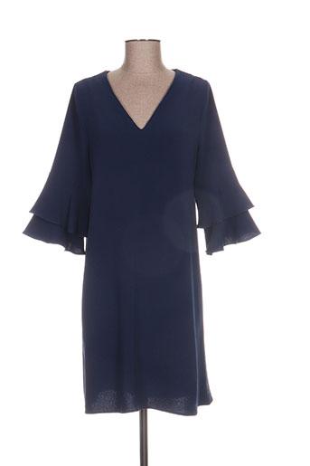 beaurivage robes femme de couleur bleu