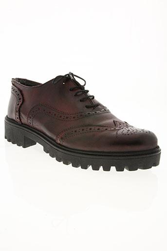 kharisma chaussures femme de couleur rouge
