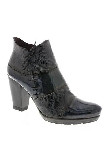 jose saenz chaussures femme de couleur bleu