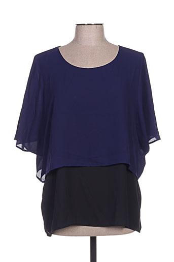 spg jenuan chemises femme de couleur bleu