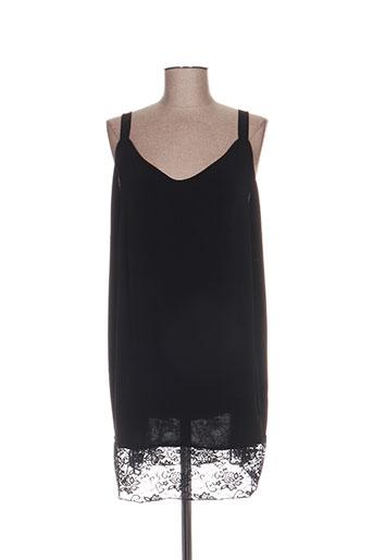sophia curvy chemises femme de couleur noir