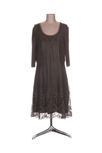 simclan robes femme de couleur marron