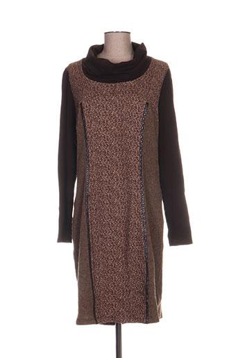 divas robes femme de couleur marron