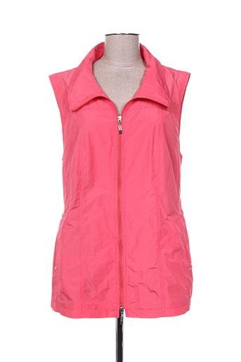 kjbrand vestes femme de couleur rose
