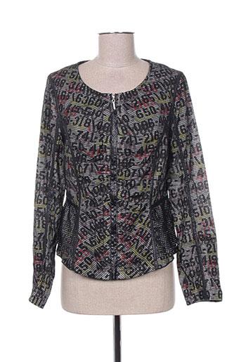 creative by vestes femme de couleur gris