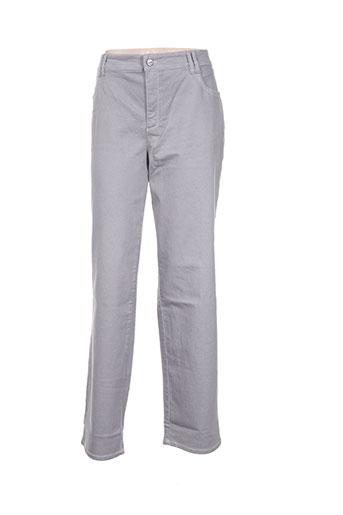 ascari jeans femme de couleur gris