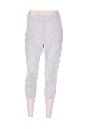 cassiopee pantalons femme de couleur gris
