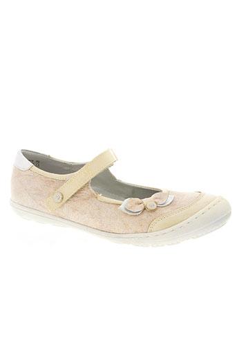 little mary chaussures fille de couleur beige