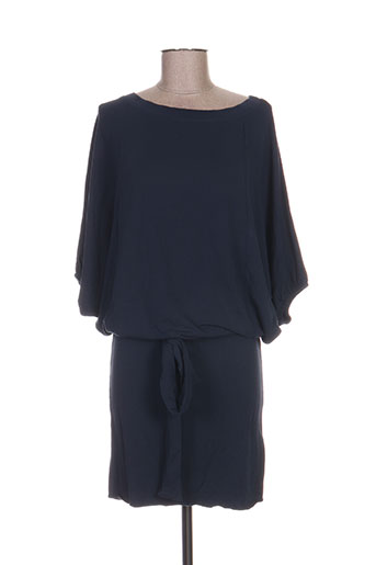 ekyog robes femme de couleur bleu