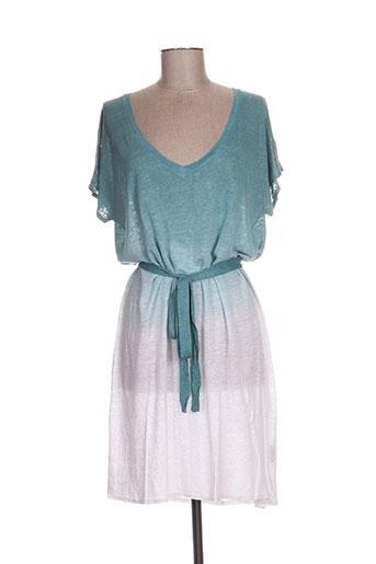 fine collection robes femme de couleur vert