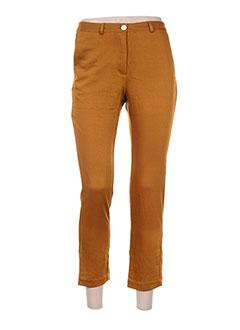 Pantalon 7/8 marron MOMONI pour femme
