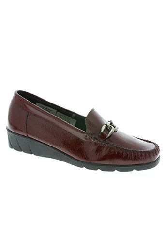 influx chaussures femme de couleur rouge