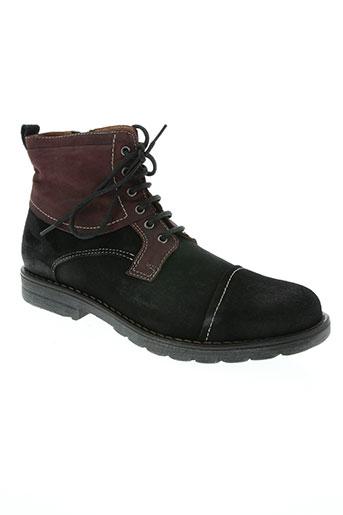 maxcess chaussures homme de couleur noir