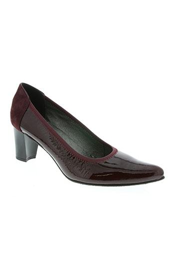 butterfly chaussures femme de couleur rouge