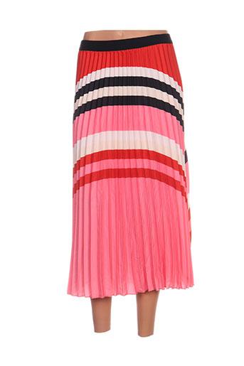 cks jupes femme de couleur rose