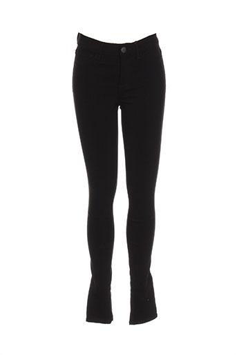 pieces pantalons femme de couleur noir
