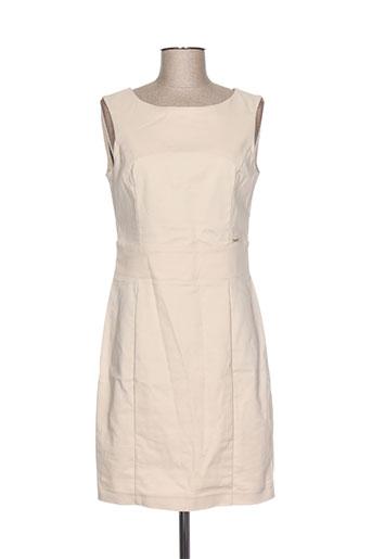 fracomina robes femme de couleur beige