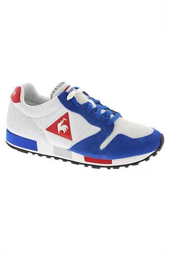le coq sportif chaussures homme de couleur bleu
