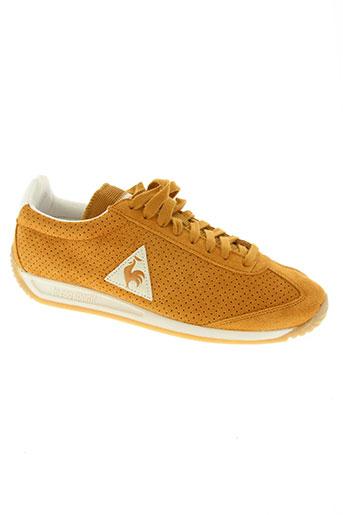 le coq sportif chaussures homme de couleur orange