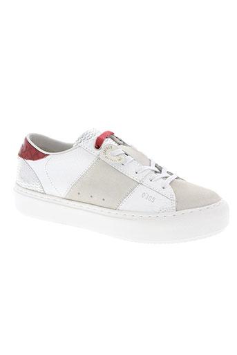 0-105 chaussures femme de couleur blanc