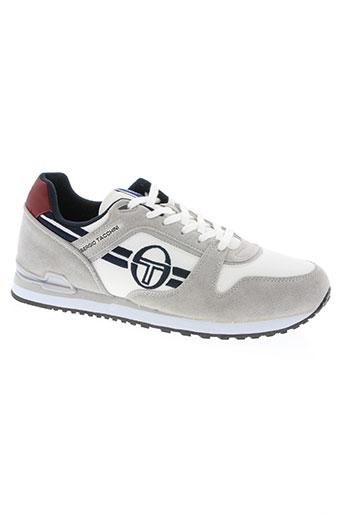 sergio tacchini chaussures homme de couleur gris