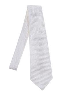Cravate blanc ELIOS pour homme