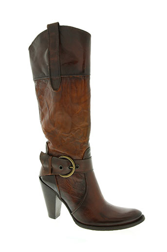 san marina chaussures femme de couleur marron