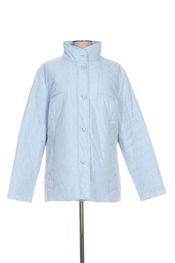 bulté manteaux femme de couleur bleu