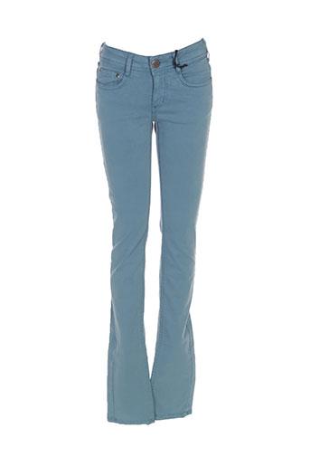 cimarron pantalons femme de couleur vert