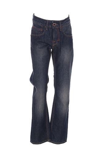 Jeans coupe droite bleu VOLCOM pour garçon