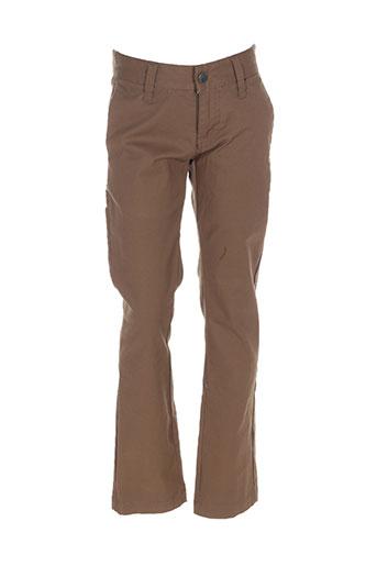 Pantalon casual vert VOLCOM pour garçon