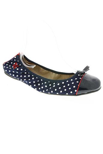 butterflytwists chaussures femme de couleur bleu