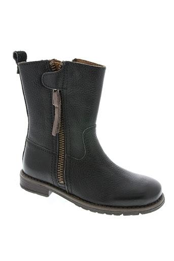 bisgaard chaussures fille de couleur noir