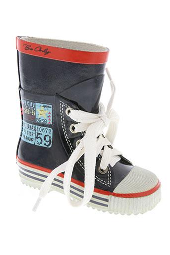 be only chaussures enfant de couleur bleu