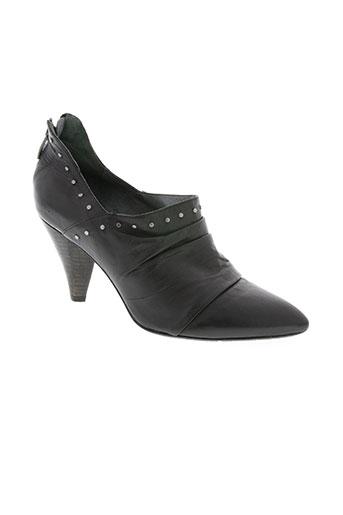 Bottines/Boots noir BOCAGE pour femme