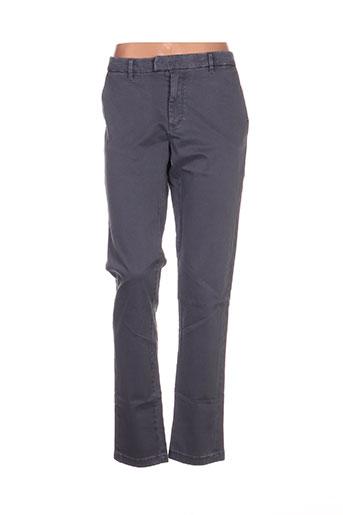 b.young pantalons femme de couleur gris