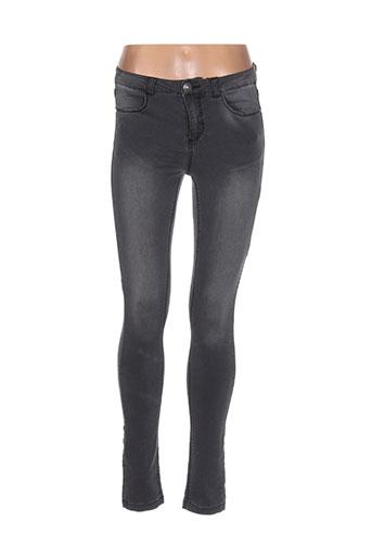 b.young jeans femme de couleur gris