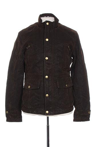 cbk manteaux homme de couleur marron