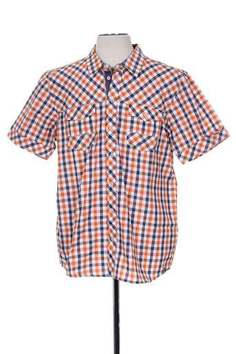 icepeak chemises homme de couleur orange