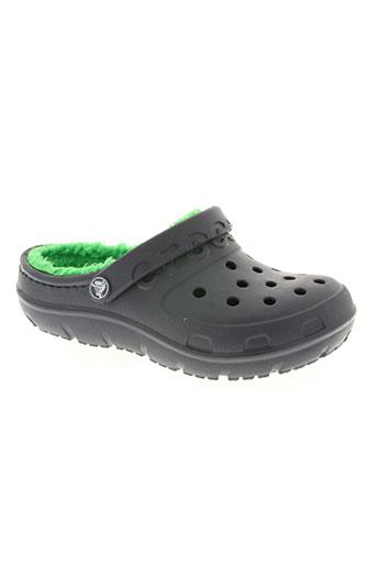 crocs chaussures garçon de couleur bleu