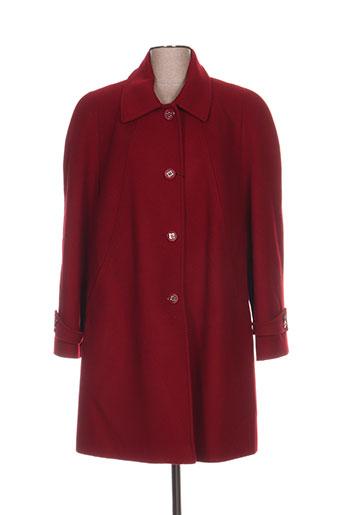 paloma manteaux femme de couleur rouge