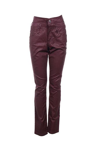 kanope pantalons femme de couleur violet
