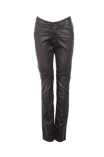 kanope pantalons femme de couleur marron